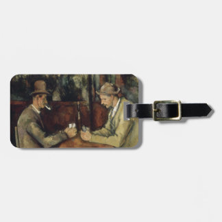 The Card Players by Paul Cézanne 1895 Luggage Tags