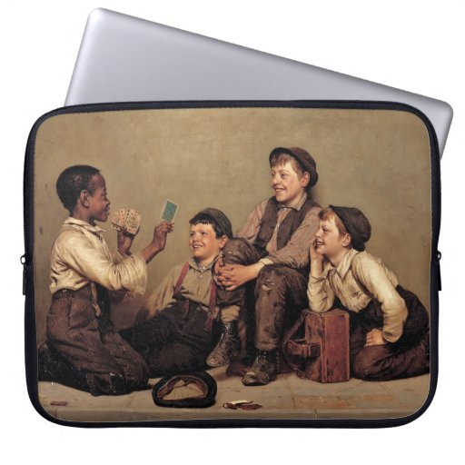 The Card Trick Laptop Sleeve