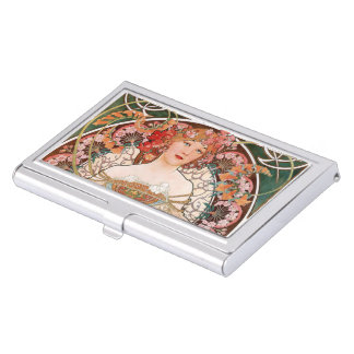"""The cardcase """"of Alphonse Mucha"""", No.03 Business Card Holder"""
