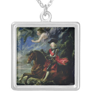 The Cardinal Infante Ferdinand Silver Plated Necklace
