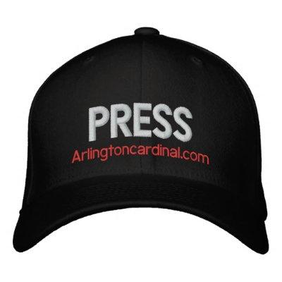 The Cardinal PRESS Hat