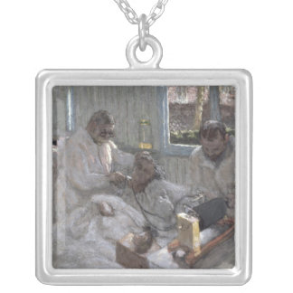 The Cardiologist Henri Vaquez  and his Silver Plated Necklace