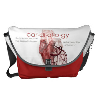 The Cardiology Bag Messenger Bags