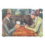 The Cardplayers Paul Cézanne Fine Art iPad Skin iPad Mini Case