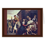 The Care Of Orphans By Jan De Bray (Best Quality) Cards