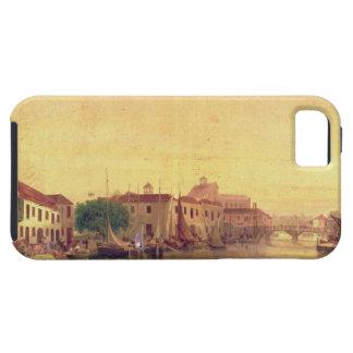 The Careenage, Bridgetown, Barbados, c.1848 iPhone SE/5/5s Case