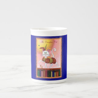 The Carefree Cat Porcelain Mugs