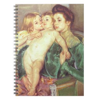 The Caress Spiral Notebooks