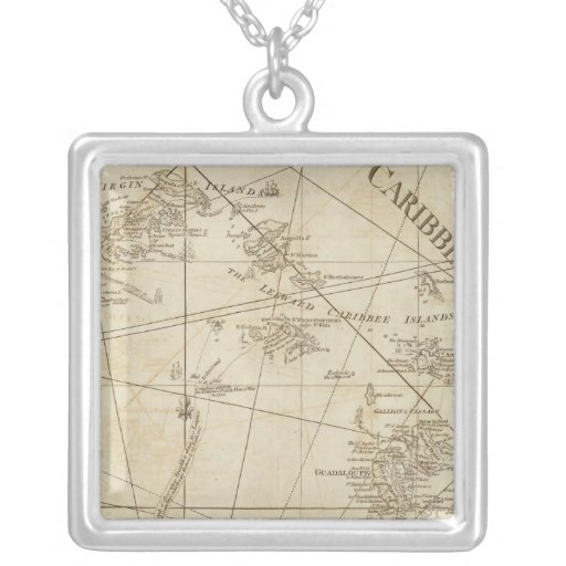 The Caribbean Islands, the Virgin Islands Necklaces