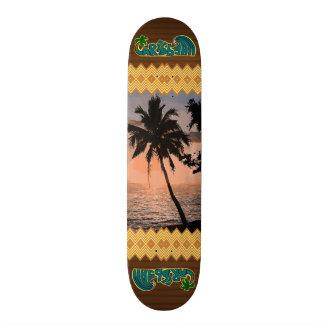 The Caribbean Palm Scene Skateboard