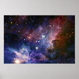 The Carina Nebula Eta Carina Nebula NGC 3372 Posters
