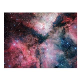 The Carina Nebula imaged by the VLT Survey Telesco Postcard