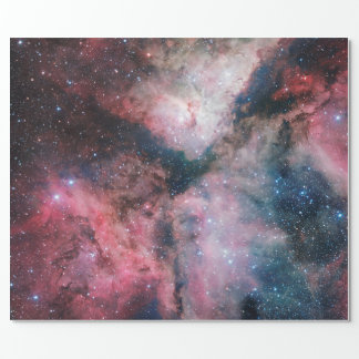 The Carina Nebula imaged by the VLT Survey Telesco Wrapping Paper