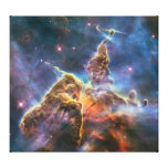 "The Carina Nebula ""Mystic Mountain"" Gallery Wrap Canvas"