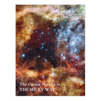 The Carina Nebula Postcard