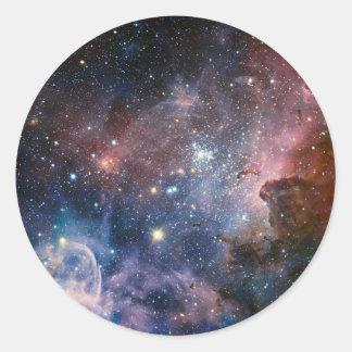 The Carina Nebula's hidden secrets Classic Round Sticker