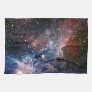 The Carina Nebula's hidden secrets Kitchen Towel