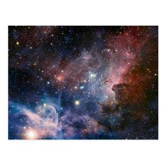 The Carina Nebula's hidden secrets Postcard