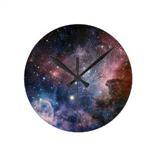 The Carina Nebula's hidden secrets Round Clock