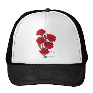 THE CARNATION ANDALUSIAN TRUCKER HAT