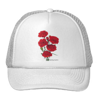 the carnation trucker hat