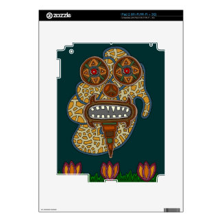 The Carnival Glass Man iPad 2 Decals
