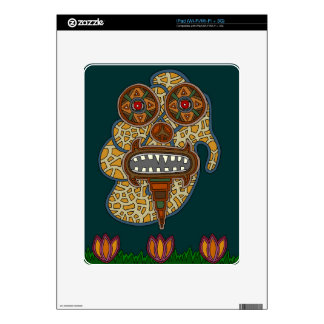The Carnival Glass Man Skins For iPad