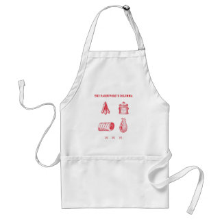 The Carnivore's Dilemma Adult Apron
