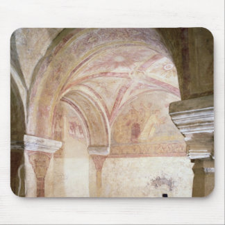 The Carolingian frescoes in the inner crypt Mouse Pad