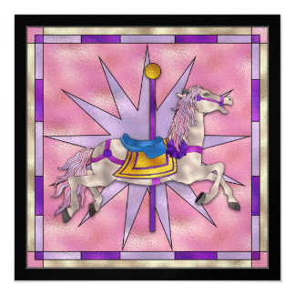 The Carousel Horse - SRF Card