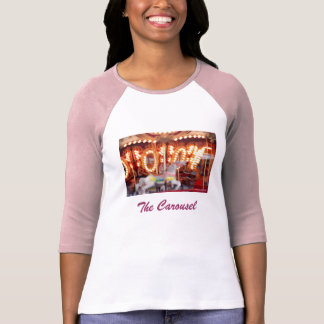 'The Carousel' Ladies' 3/4 Sleeve Raglan T-shirt