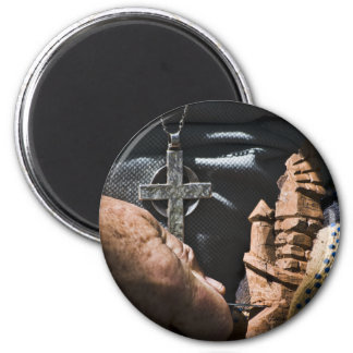 The Carpenter 2 Inch Round Magnet