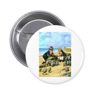 The Carpenter and the Walrus 2 Inch Round Button