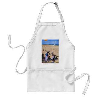 The Carpenter and the Walrus Consider Oysters Adult Apron