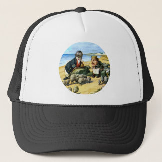 The Carpenter and the Walrus Consider Oysters Trucker Hat