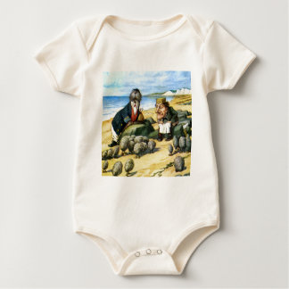 The Carpenter and Walrus Consider Oysters Baby Bodysuit