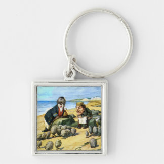 The Carpenter and Walrus Consider Oysters Keychain