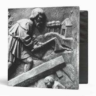 The Carpenter, detail from an altarpiece Binder