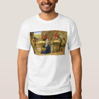 The Carpenter's Shop by John Everett Millais T Shirts
