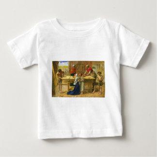 The Carpenter's Shop by John Everett Millais Tee Shirt