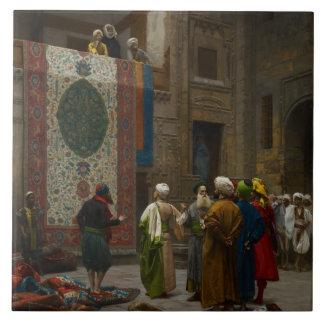 The Carpet Merchant, c.1887 (oil on canvas) Ceramic Tile