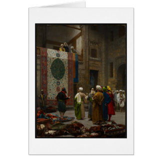 The Carpet Merchant, c.1887 (oil on canvas) Greeting Card