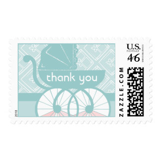 The Carriage Awaits Thank You Postage Stamps