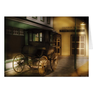 The carriage card