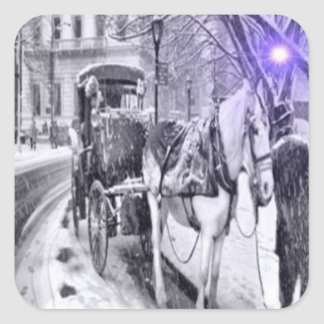 The Carriage Driver, Beautiful Stickers