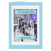 The Carriage Driver, Folded Greeting Card