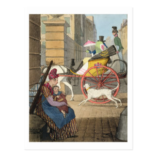 The carriage entrance, from 'Twenty-four Subjects, Postcard