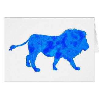THE CARRIBEAN LION CARD