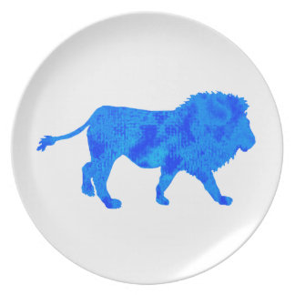THE CARRIBEAN LION PARTY PLATE