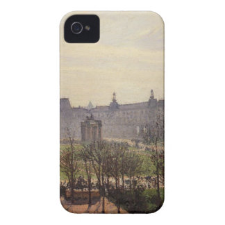 The Carrousel, Autumn, Morning by Camille Pissarro Case-Mate iPhone 4 Case